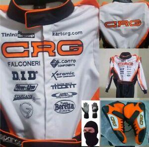 CRG-Go-Kart-Race-Suit-CIK-FIA-Level-2-Shoes-Gloves-Balaclava