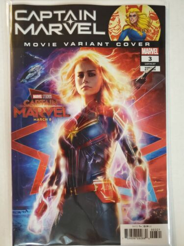 Captain Marvel #3 Movie Variant Marvel NM Comics Book