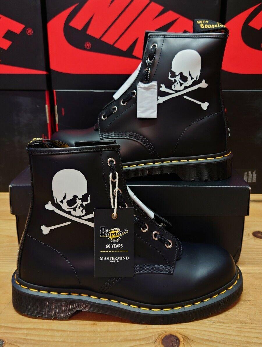 Dr Martens 1460 Boot Mastermind Skull 60th Anniversary UK 8 USA 9 EU 42