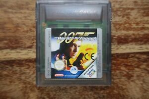 007 The World Is Not Enough For Game Boy Color Ebay