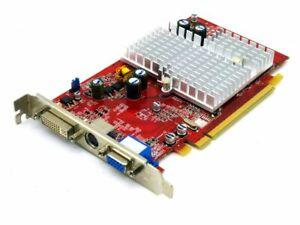 Sapphire 1024 Hc49 Ati Radeon X550 Advantage 256mbv D Vo Dvi Pcie Gráfica Ebay