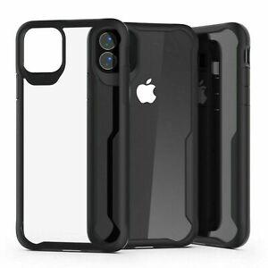 Shockproof-Clear-Hybrid-Bumper-Case-For-Apple-iPhone-6-8-X-11-Pro-SE-XR-12