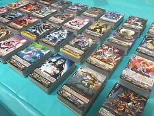 Cardfight! Vanguard Collection LOT 100+ CARDS 4x BOOSTERS CFV SP GR RRR SGR BT07