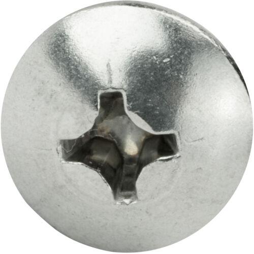 """2-56 x 7//16/"""" Phillips Truss Head Machine Screws Stainless Steel 18-8 Qty 100"""