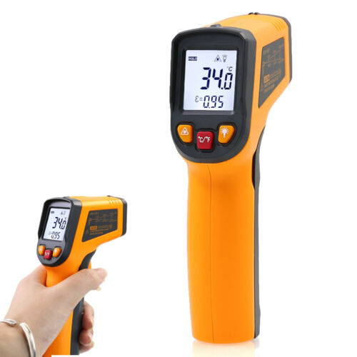 Infrared Thermometer Temperature Gun IR Laser Point Digital LCD Non-Contact
