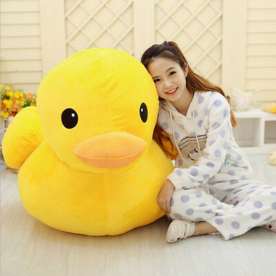 "19""(50cm ) Lovely Plush Doll Toy Soft Yellow Duck Stuffed Animal Cute Gift"
