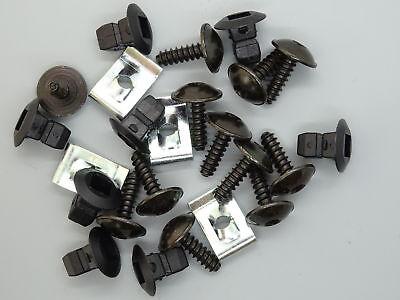 20x spreizmutter Clip Carrozzeria 4,8 mm per AUDI SEAT SKODA VW 867809966