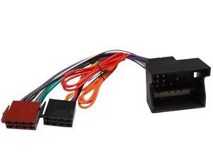 Cable-adaptateur-faisceau-fiche-ISO-autoradio-pour-Mercedes-A-B-C-Class-CLK-CLS
