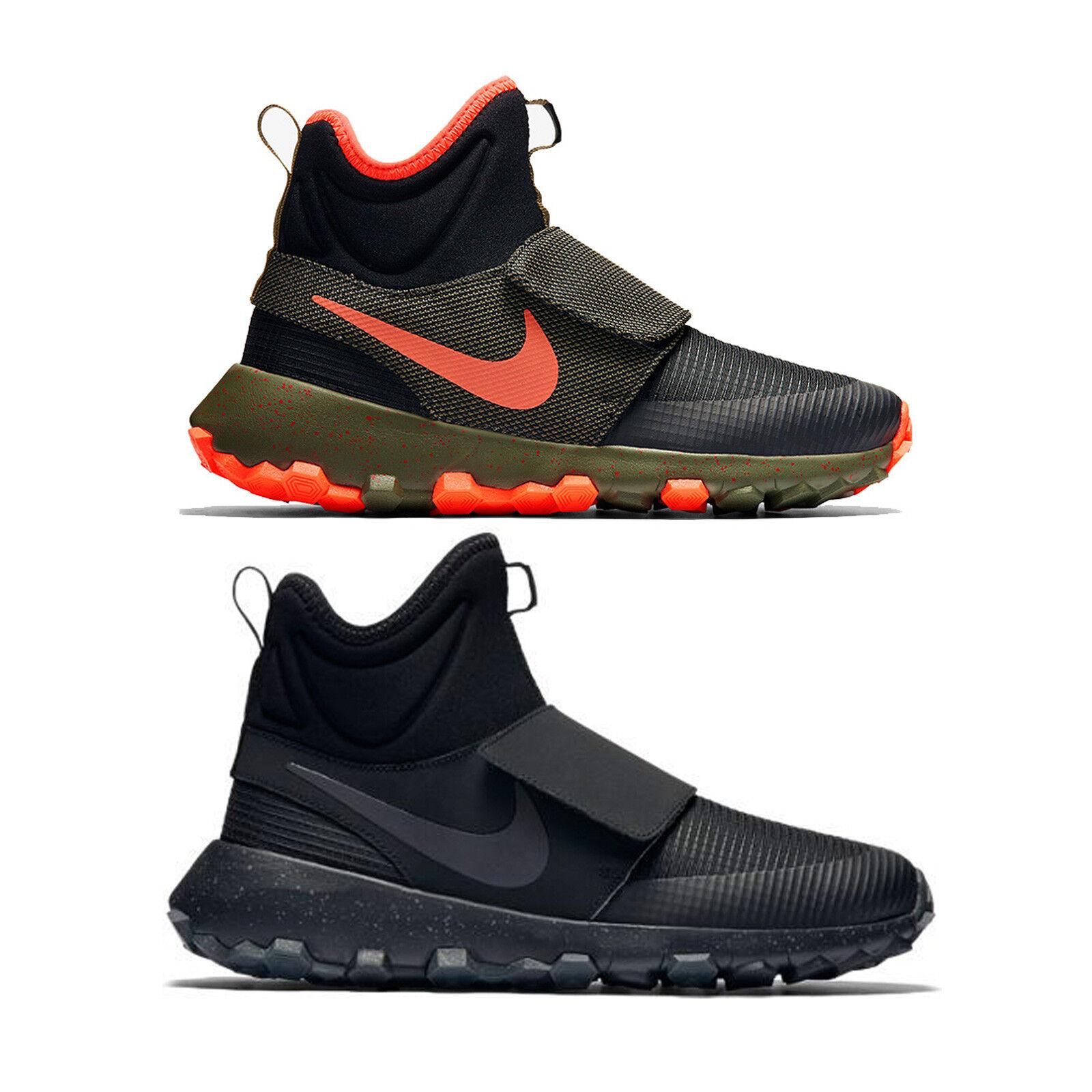 Cómodo y bien parecido Barato y cómodo Nike Roshe Mid Winter Stamina Zapatillas Sneakerboot negro oliva 859621 001 003