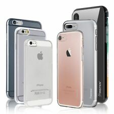 For iPhone X XS 8 7 6 Plus 5 Case Silicone Crystal Clear Bumper Gel Soft Cover