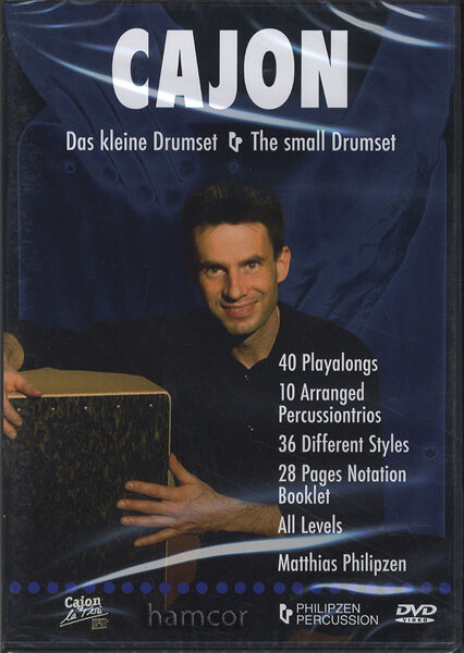 Cajon The Small Drumset DVD Matthias Philipzen 40 Playalongs
