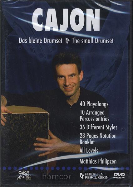 Cajon The Small Drumset DVD Matthias Philipzen 40 Playalongs