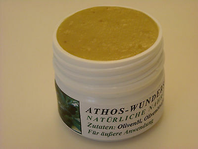 Athos-Wundersalbe (50 ml) - die natürliche Hautcreme, Handcreme, Fußcreme