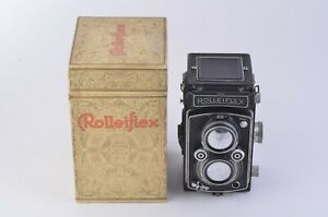 EXC-ROLLEI-ROLLEIFLEX-X-K4-MODEL-50-w-ROLLEIKIN-35mm-ADAPTER-BOXED-TESTED