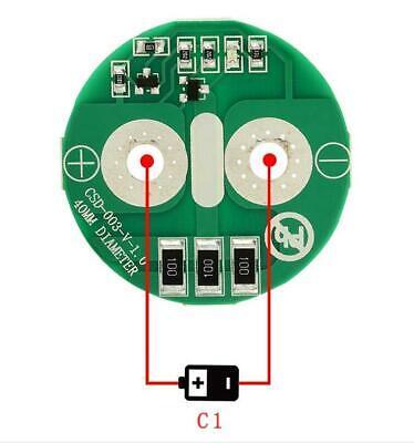 Independent Balance 2.5V 2.7V2.8V Super Farad Capacitor Balance Protection Board