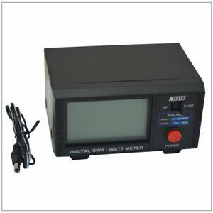 Original-Nissei-Dg-503-Digital-Lcd-3-5-034-Swr-amp-Wattmeter-1-6-60-Mhz-125-525-A7E7