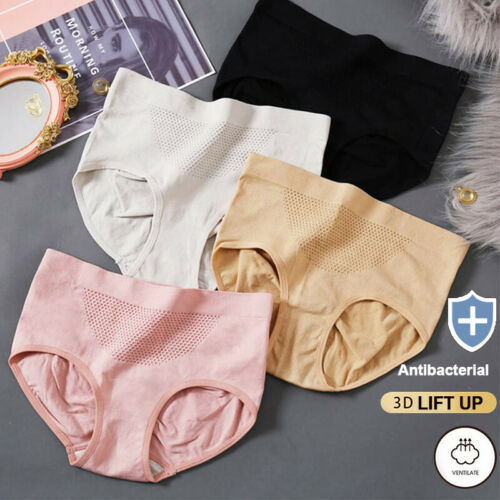 Details about  /Women Solid Color Underwear Panties Briefs Lifting Hip Seamless Knicker Lingerie