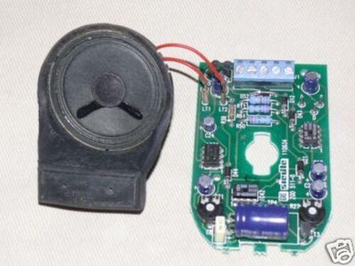 Siedle accessoires-Gong ZGO 511-0 triptyque-Gong Alpha et dauerton comme neuf