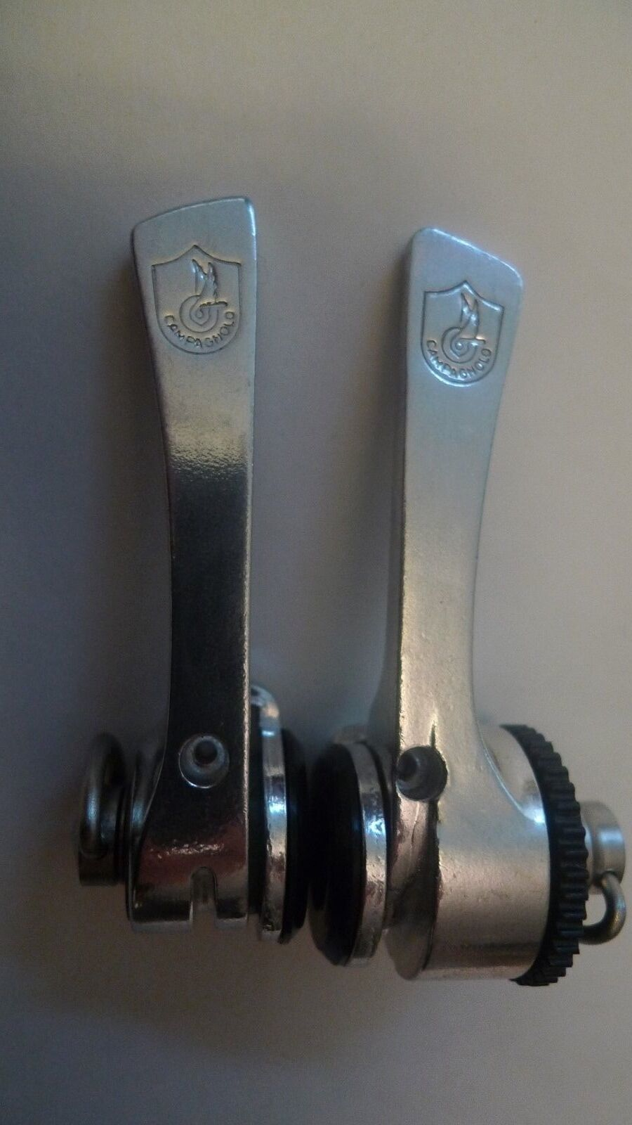 Vintage NOS 80's Campagnolo C Record 7 Speed Syncro CHROME Shifters 4 Colnago