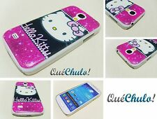 FUNCDA CARCASA RÍGIDA PARA SAMSUNG GALAXY S4 MINI I9190 HELLO KITTY FUCSIA +FILM