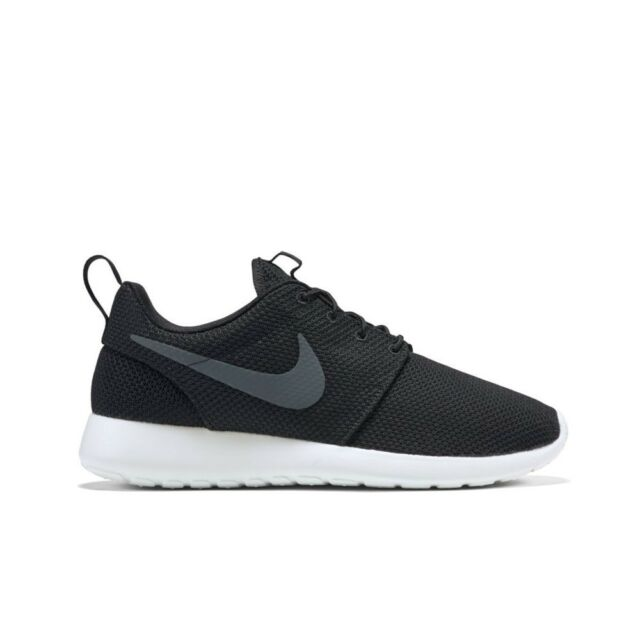 huge discount ec4a7 aa5fa Nike Roshe One Sz 11.5 Black Sail Anthracite White 511881 010