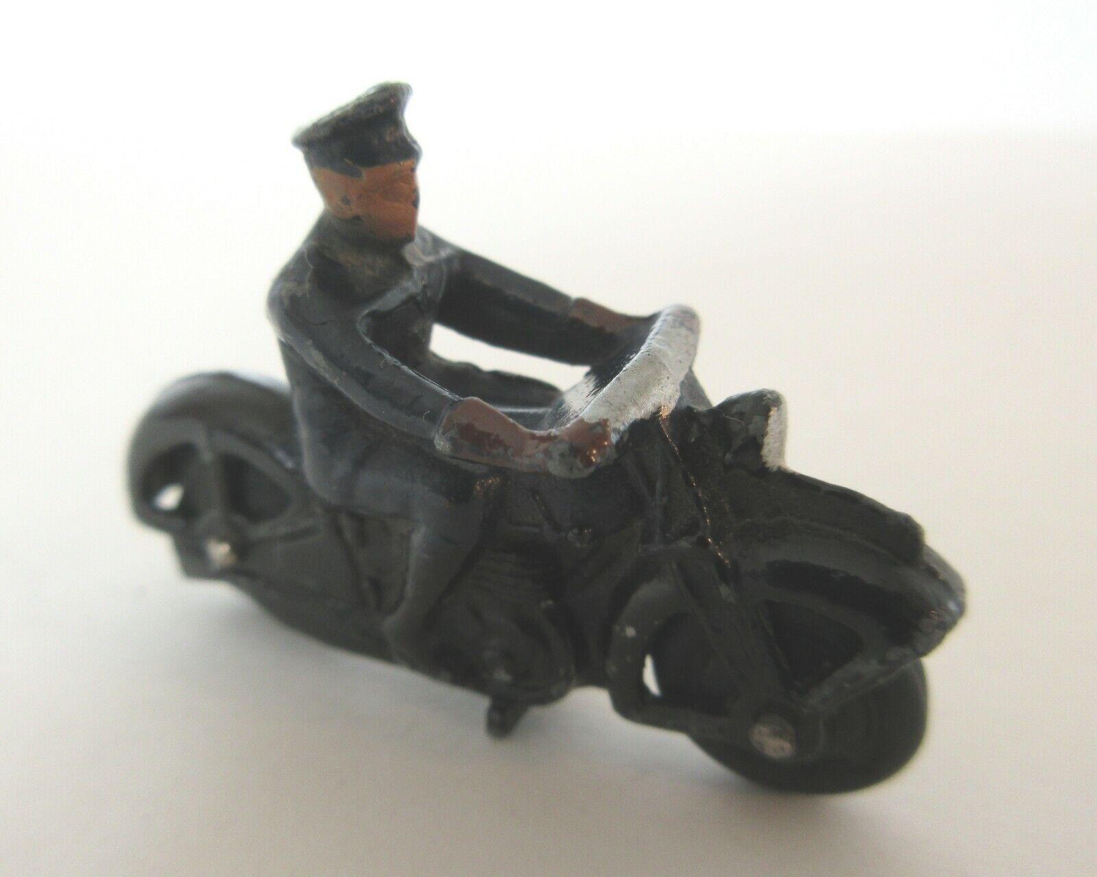 Post Guerra Guerra Dinky Juguetes policía Motor ciclo Patrol-Dinky Juguetes Motor Cycles