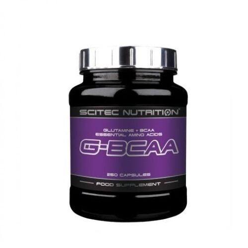 BCAA + GLUTAMINA G-BCAA 250capsulas SCITEC NUTRITION