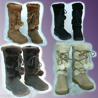 Clearance Genuine Ugg Australia Rubber Sole Outdoor Premium Sheepskin Tall Boots