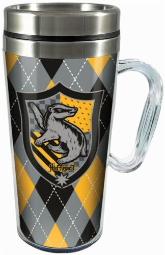 Harry Potter Hufflepuff 14 oz Double Walled Insulated Travel Tumbler