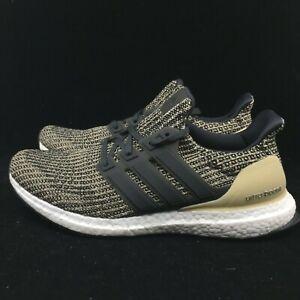 Adidas Ultra Boost Men Black Gold White
