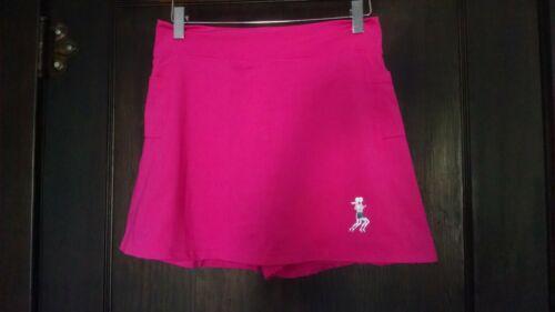 RunningSkirts solid hot pink activewear running sk