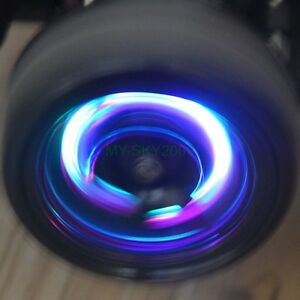Metal Wheel Hex Dyamaic Led Wheel Lights For Rc On Road