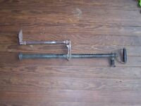 Antique Nautical Brass & Cast Iron Boat / Marine Bilge Pump Hand Operated Decor
