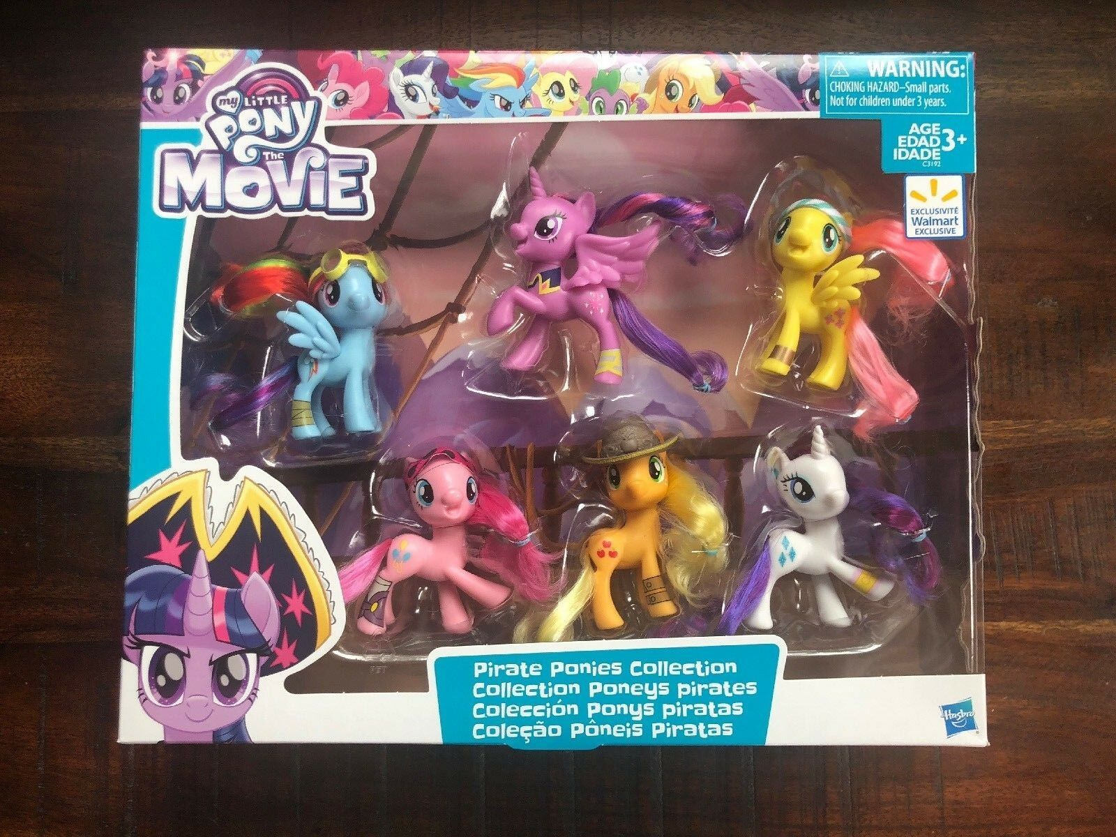MY LITTLE PONY THE MOVIE PIRATE PONIES COLLECTION--NEW--FACTORY SEALED