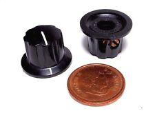 "Daka-Ware USA Fluted Pointer Knob 3/4"" Skirt Set Screw Instrument Panel Amp NOS"