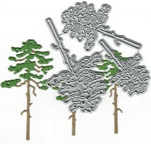 Dies-to-die-for-metal-cutting-craft-die-Pine-trees-Camping-trees-tall