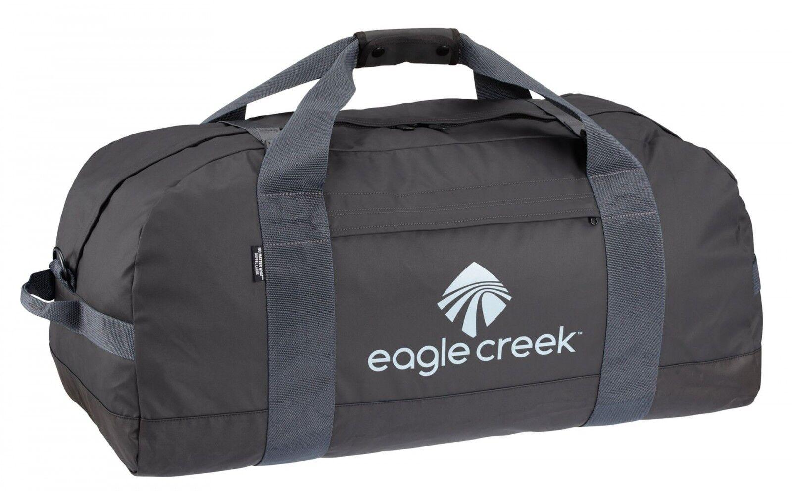 Eagle Creek no matter what Duffel L Borsa Borsa Da Viaggio Pieghevole Nero Nuovo