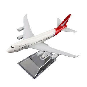 1-400-16cm-B747-Australia-Qantas-Airline-Diecast-Models-Aircraft-Aeroplane-Plane