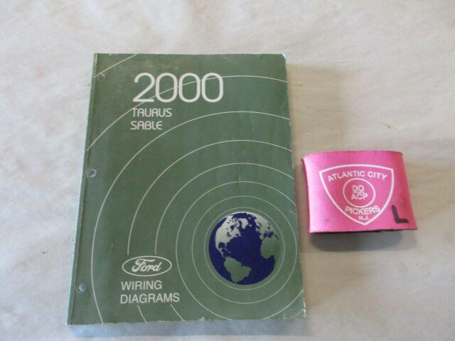 2000 Ford Taurus Mercury Sable Electrical Wiring Diagrams