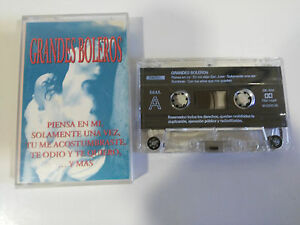 GRANDES-BOLEROS-GLORIA-ESTEFAN-CINTA-TAPE-CASSETTE-DIENC-1996-SPANISH-EDIT