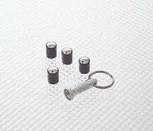 Richbrook Black Spinning Car Valve Caps Free Delivery Set Of 4 Anti Theft
