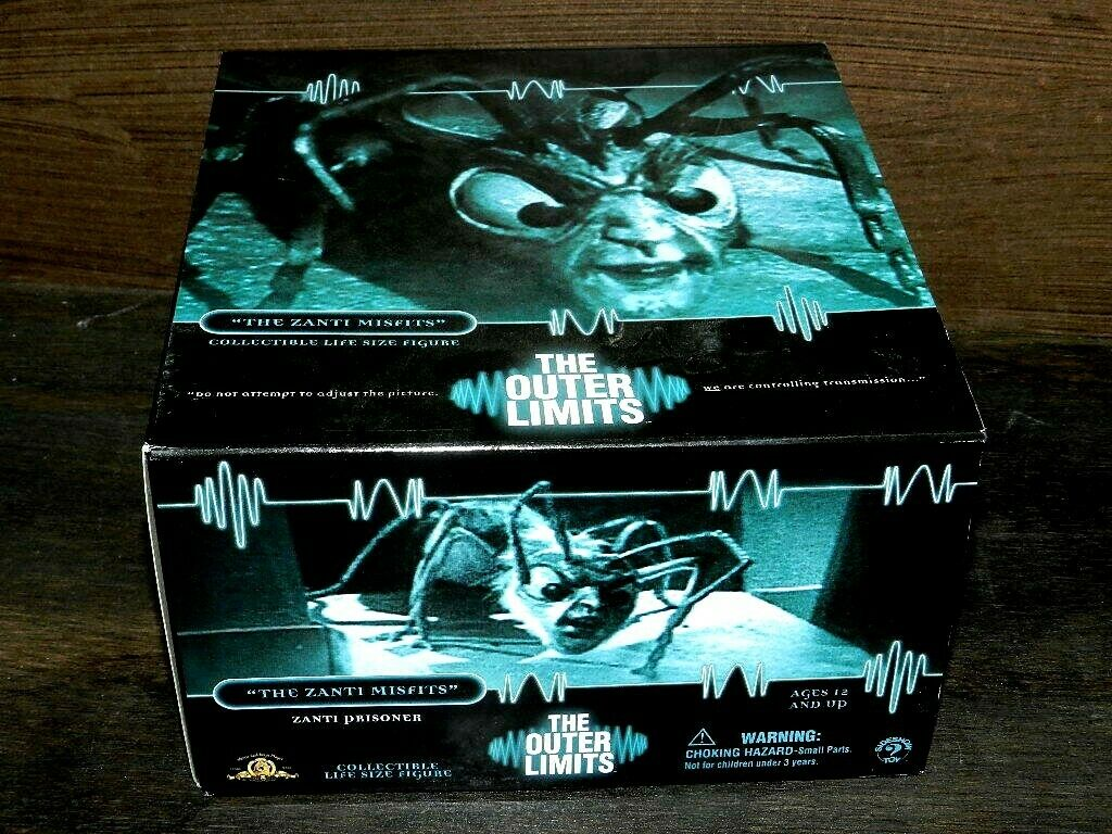 THE OUTER LIMITS SIDESHOW THE ZANTI MISFITS LIFE Größe FIGURE BOXED SET NEW