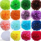 "8""10""14"" Wedding Party Home Birthday Tissue Paper Pom Poms Flower Balls Décor"