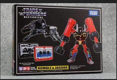 Takara Transformers MP-15 Rumble/&Jaguar tape unit rumbling robot dog !