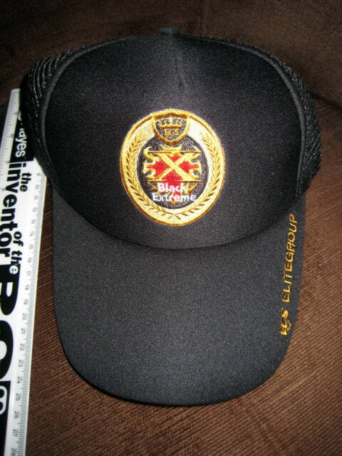 LOVELY BLACK EXTREME ADJUSTABLE CAP NEVER WORN A001t2r5