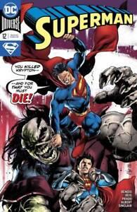Superman-12-DC-COMICS-COVER-A-Bendis-Joe-Prado-1ST-PRINT-2019