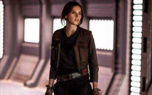 New Women/'s Star Wars Rogue One Jyn Erso Women Jacket with Vest
