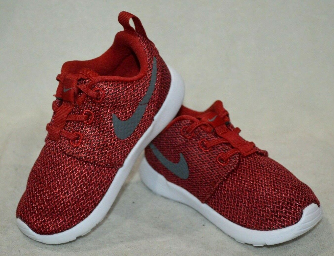 Nike Roshe One TDV Nike Roshe One (TDV) Red/Grey/Anthracite Toddler Boy's Shoes-Size ...