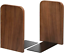 Non-Skid Bookend Wood  Metal Bo Maxgear Book Ends Walnut Bookends For Shelves