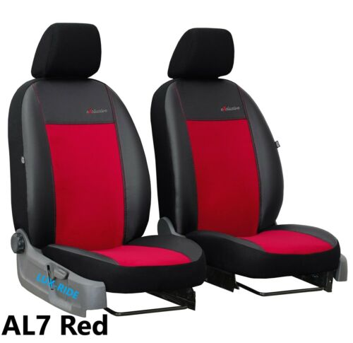 ECO LEATHER /& ALICANTE TAILORED FRONT SEAT COVERS VAUXHALL GRANDLAND X 2017 ON